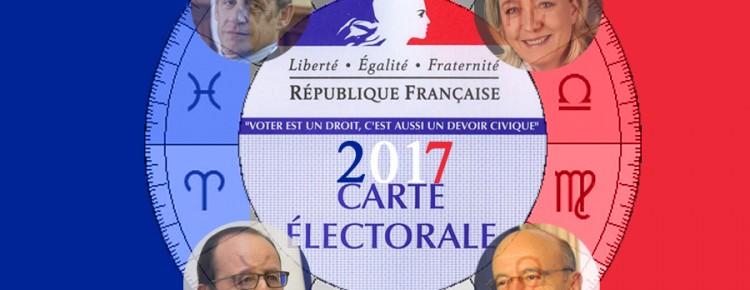 Prévision astrologique élections présidentielles 2017