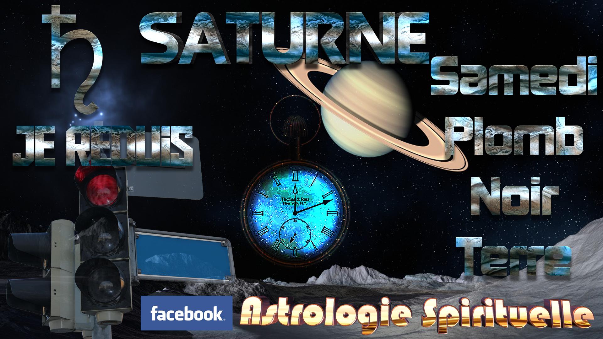 Saturne c'est le samedi